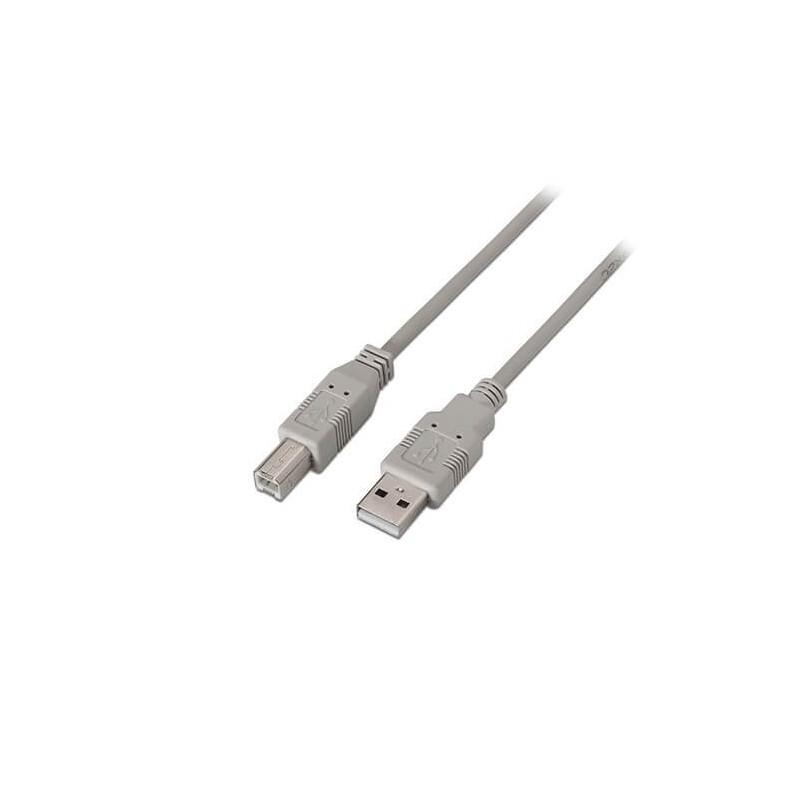 CABLE USBA 20 A USBB 20 AISENS 1M GRIS
