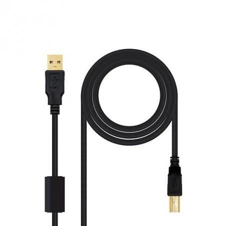 Gembird A-HDMI-DVI-2 adaptador de cable Negro