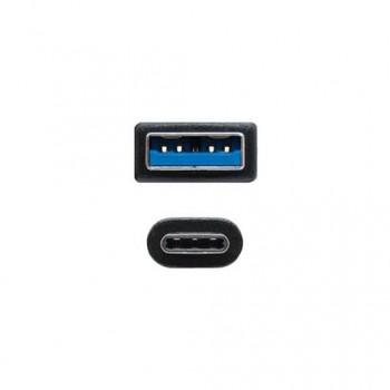 CABLE USBA 31 A USB C 31 NANOCABLE 05M NEGRO