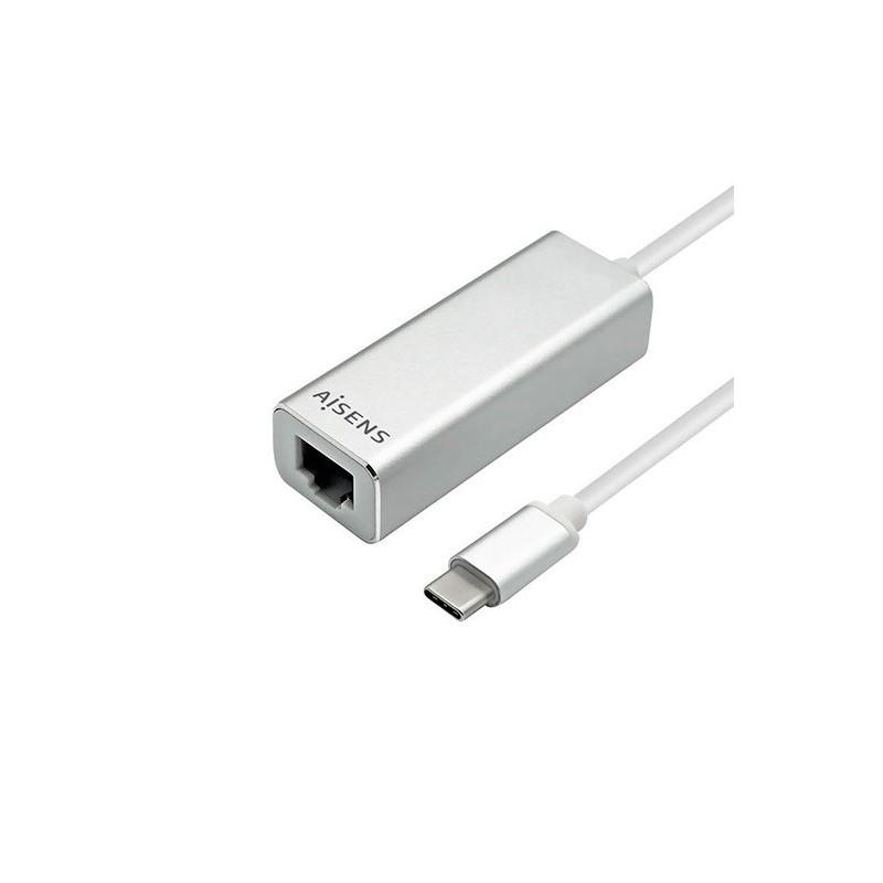 ADAPTADOR USB 31 GEN1 USB C A RJ45 AISENS NEGRO