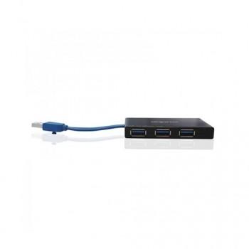 HUB 4 PUERTOS USB 30 APPROX TRAVEL HUB NEGRO