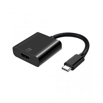 ADAPTADOR USB C A HDMI 4K 60HZ AISENS NEGRO