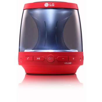 ALTAVOZ LG PH1R 2W BLUETOOTH 4.0 ROJO ILUMINADO