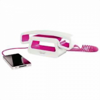 TELEFONO GONDOLA E-PURE CH01 WHITE & PINK