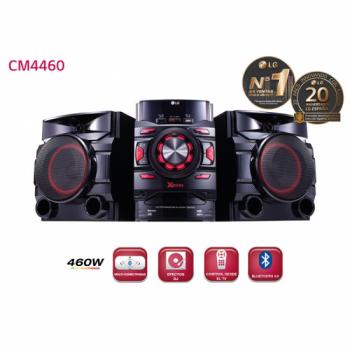 CADENA LG CM4460 460W WOOF CD BLUETOOTH