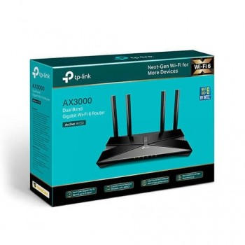 WIRELESS ROUTER TP LINK ARCHER AX50 NEGRO