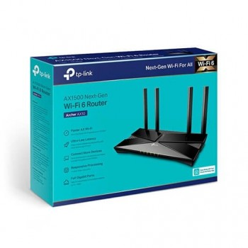 WIRELESS ROUTER TP LINK ARCHER AX10 NEGRO