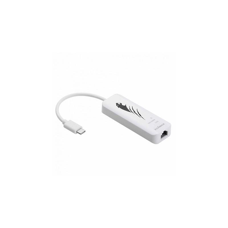 ADAPTADOR USB C A 25 ETHERNET GBIT EDIMAX EU 4307