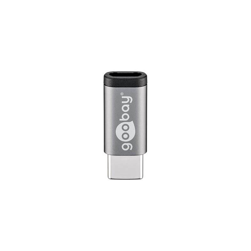 ADAPTADOR USBC 30 A MICRO USBB 20 GOOBAY