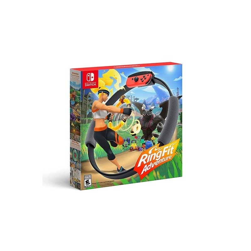 JUEGO NINTENDO SWITCH RING FIT ADVENTURE