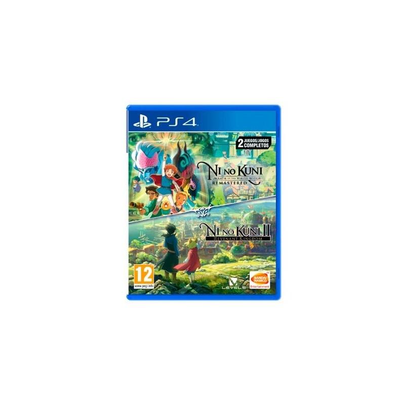 JUEGO SONY PS4 NI NO KUNI 1 2 COMPILATION