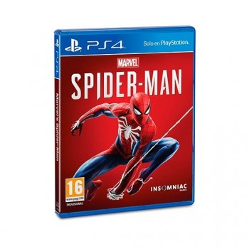 JUEGO SONY PS4 MARVEL S SPIDER MAN