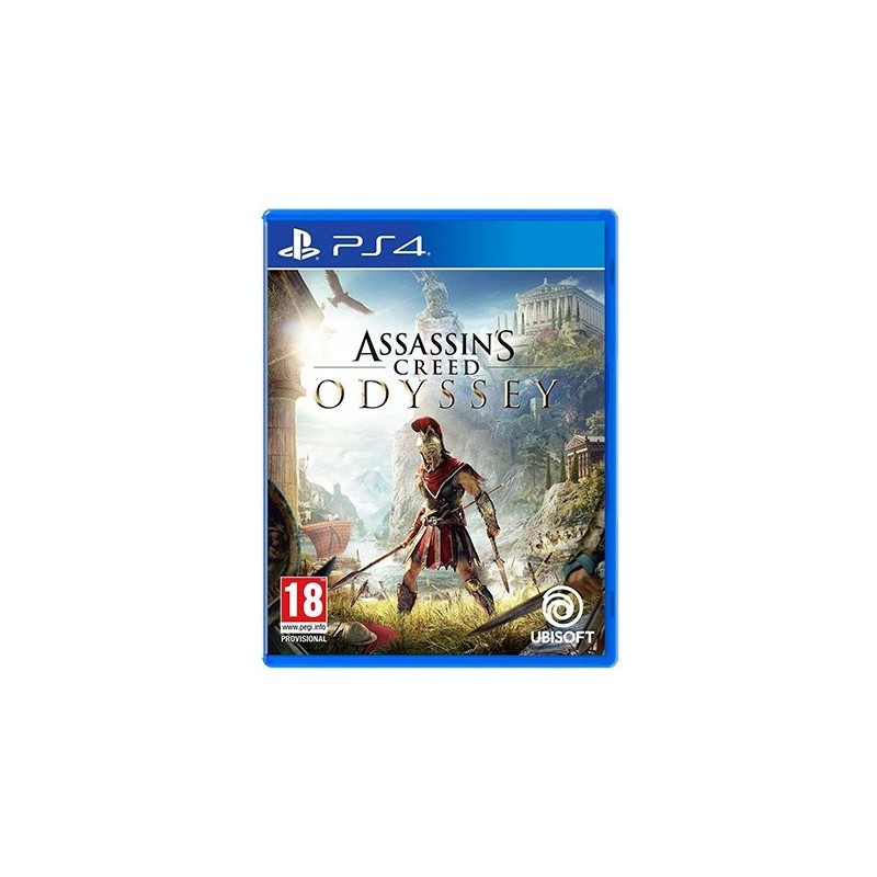 JUEGO SONY PS4 ASSASSINS CREED ODYSSEY