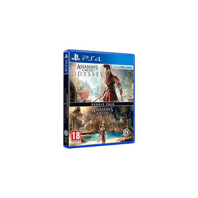 JUEGO SONY PS4 COMPILACION AC ORIGINS ODISSEY