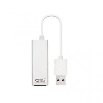 ADAPTADOR USB 30 A RJ45 NANOCABLE 10030401 15CM