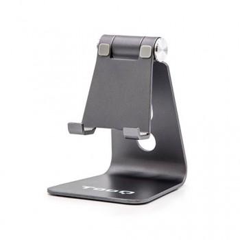 SOPORTE SMARTPHONE TABLET TOOQ DE SOBREMESA GRIS