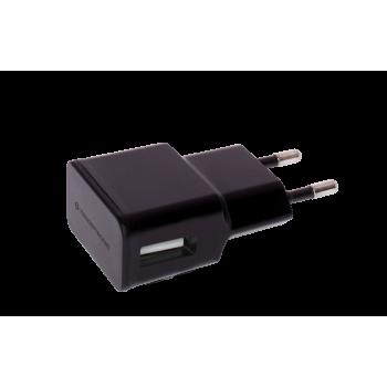 CARGADOR 5V USB POWER2GO PARED NEGRO
