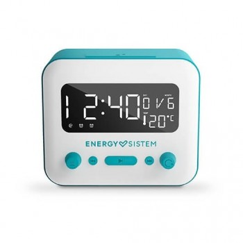RADIO DESPERTADOR ENERGY SISTEM CLOCK SPEAKER BLUETOOTH 2 A