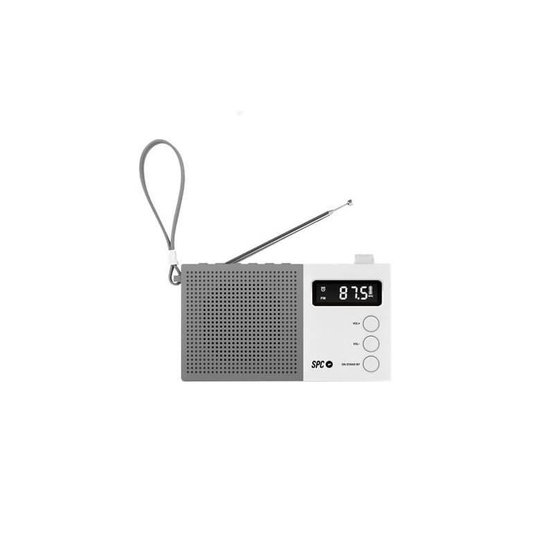 RADIO DESPERTADOR SPC JETTY MAX BLANCO