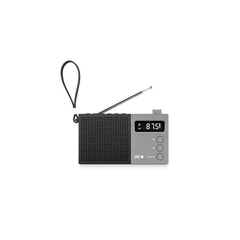 RADIO DESPERTADOR SPC JETTY MAX NEGRO