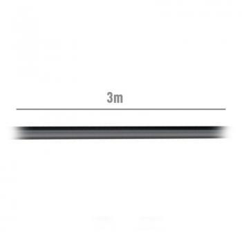 Cable Alargador USB 2.0 Aisens A101-0017/ USB Macho - USB Hembra/ 3m/ Negro - Imagen 3