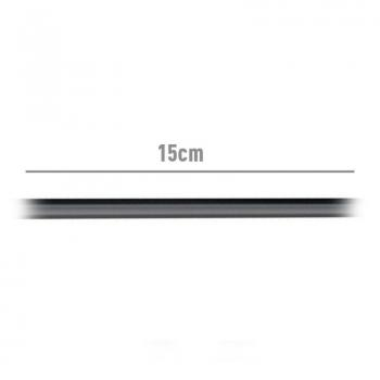 Cable USB 2.0 Aisens A107-0059/ USB Tipo-C Macho - USB Hembra/ 15cm/ Negro - Imagen 3
