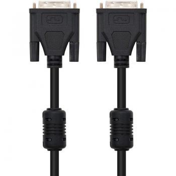 Cable DVI Dual Nanocable 10.15.0602/ DVI Macho - DVI Macho/ 1.8m/ Negro - Imagen 4