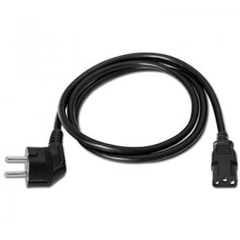 Cable Alimentación Nanocable 10.22.0103/ Schuko Macho - C13 Hembra/ 3m/ Negro - Imagen 4