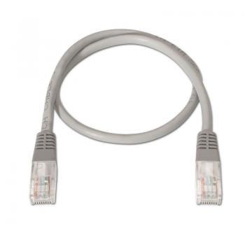 Cable de Red RJ45 UTP Aisens A133-0177/ Cat.5e/ 1m/ Gris - Imagen 2