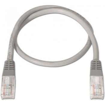 Cable de Red RJ45 UTP Aisens A133-0180 Cat.5e/ 3m/ Gris - Imagen 2