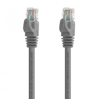 Cable de Red RJ45 UTP Aisens A145-0331 Cat.6A/ 15m/ Gris - Imagen 2