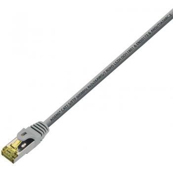 Cable de Red RJ45 S/FTP Aisens A146-0333 Cat.7/ 50cm/ Gris - Imagen 2