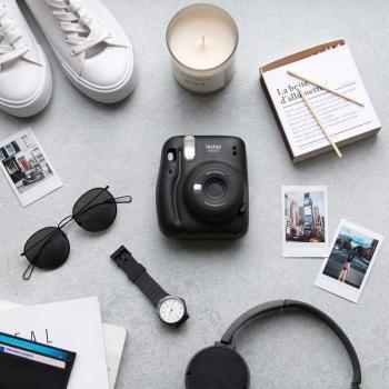 Cámara Digital Instantánea Fujifilm Instax Mini 11/ Tamaño Foto 62 x 46mm/ Gris Carbón - Imagen 5