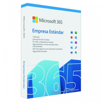 Microsoft Office 365 Empresa Estándar/ 1 Usuario/ 1 Año/ 5 Dispositivos - Imagen 1