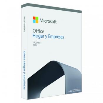 Microsoft Office Hogar y Empresas 2021/ 1 Usuario/ Licencia Perpetua - Imagen 1