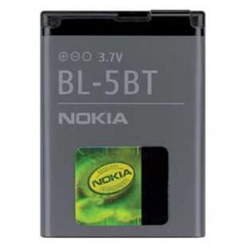 Batería original Nokia BL-5BT para el Nokia 3720 classic - Imagen 1