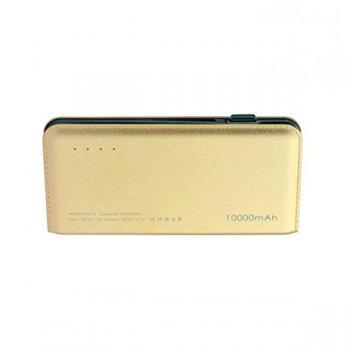 Power bank DP612 10000 mAh batería externa oro - Imagen 1