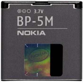 Batería original Nokia BP-5M para Nokia 7390 6110 5610 5700 6220 6500 8600 - Imagen 1