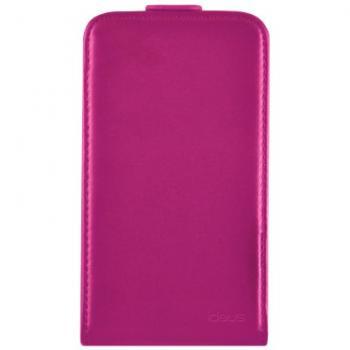 Funda de cuero rosa para Samsung Galaxy Core - Imagen 1