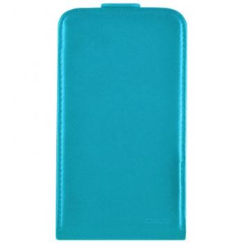 Funda de cuero turquesa para Samsung Galaxy Core - Imagen 1