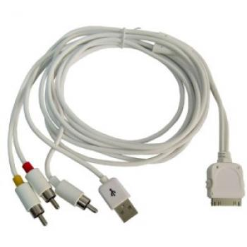 Component AV Cable para iphone - Imagen 1