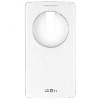 Funda inteligente CCF-490GAGEUWH para el LG G3S de color blanco - Imagen 1