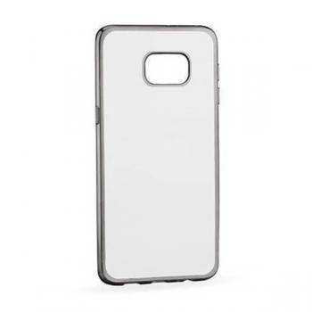 Carcasa Huawei P10 híbrida (bumper+trasera) efecto metálico negra - Imagen 1
