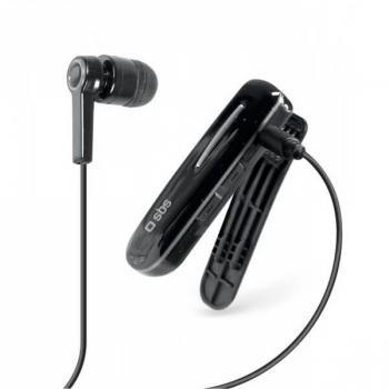 Auricular monoaural Bluetooth con clip negro - Imagen 1