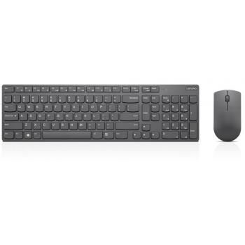 4X30T25797 teclado RF inalámbrico QWERTY Español Gris - Imagen 1