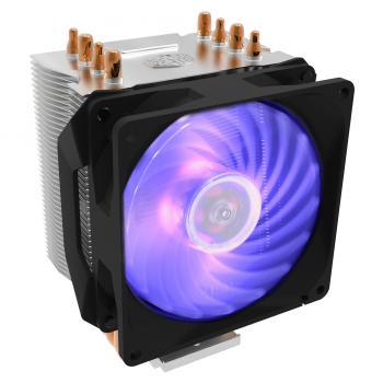 Hyper H410R RGB Procesador Enfriador 9,2 cm Negro, Plata - Imagen 1