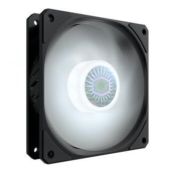 SickleFlow 120 White Carcasa del ordenador Ventilador 12 cm Negro 1 pieza(s) - Imagen 1