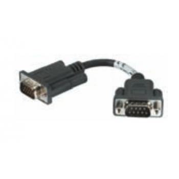CABLE ASSEMBLY MM CABLE cable de serie Negro DB15M DB9M - Imagen 1