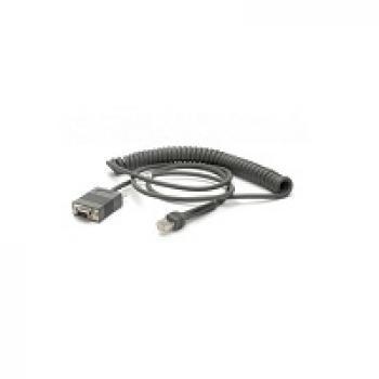 CBA-RF3-C09ZAR cable de serie Negro 2,8 m RS232 DB9 - Imagen 1