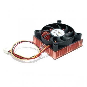 FAN3701U ventilador de PC Procesador Enfriador 6 cm Negro - Imagen 1